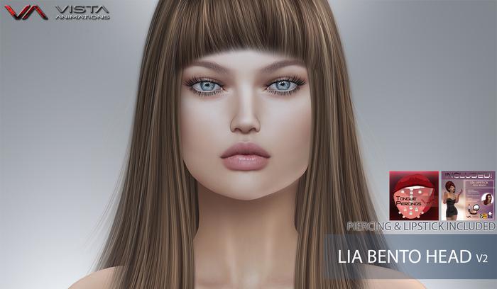 HEAD-VISTA BENTO HEAD LIA-V2 LIPSTICK & PIERCING