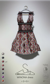 [sYs] WINONA dress (fitted & body mesh) - P1