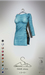 [sYs] FAME dress (fitted & body mesh) - blue