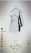 [sYs] FAME dress (fitted & body mesh) - white