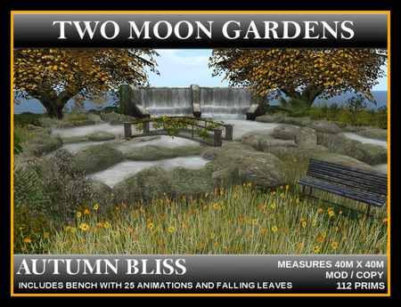 AUTUMN BLISS - Landscaped Garden with waterfall and a lake