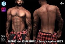 TATTOO - for [SIGNATURE] / Omega applier HUDS 56