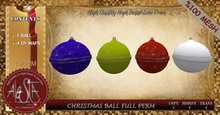 ALESTA << Mesh Christmas Ball Full Perm