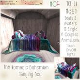 ~ASW~ The Nomadic Bohemian Bed