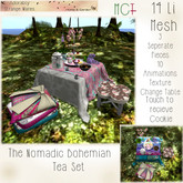 ~ASW~ The Nomadic Bohemian Tea Set