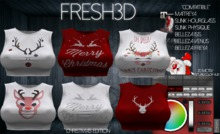 FRESH3D HOT TOP Xmas