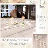 ~ASW~ The Nomadic Bohemian Ground Cover