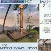 ~ASW~ The Mahina Shower - Wood