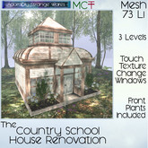 ~ASW~ The Country Schoolhouse Restoration DEMO