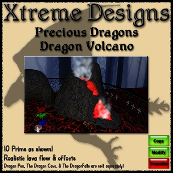 Precious Dragons Volcano - Dragon