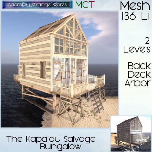 ~ASW~ The Kapa'au Salvage Bungalow