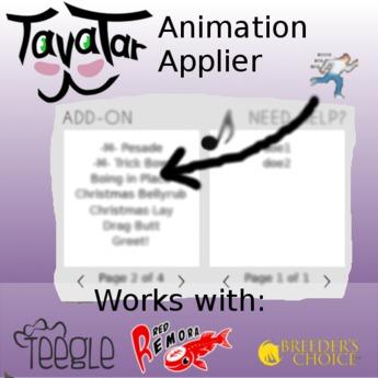 Tavatar Animation Applier Kit