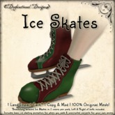 [DDD] Ice Skate Pack - Green & Red w/ Basic AO
