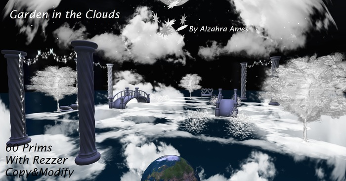 Garden in the Clouds by Alzahra Ames