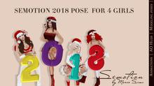 SEmotion 2018 pose set for 4 girls 02