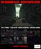 *cm* - The Narrow Alley - Mesh Photo Scene
