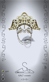 [sYs] KALT crown (unrigged mesh) - gold