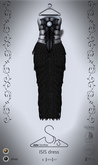 [sYs] ISIS dress (fitted & body mesh) - silver