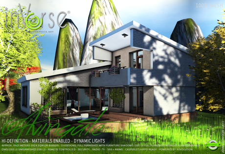 inVerse® MESH - ALVINGATE furnished classic house bxd
