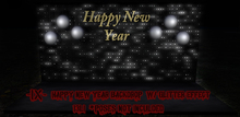 -IX- Happy New Year Backdrop Photo Prop