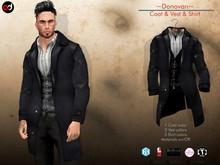 A&D Clothing - Coat -Donovan- Ebony