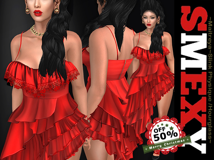 ::Smexy:: Flamenco Dress RED