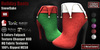 GAS [Holiday Boots Snowflake - 5 Colors w/HUD FATPACK]