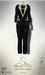 [sYs] CARLTON tuxedo Unisex (fitted & body mesh) - black/gold