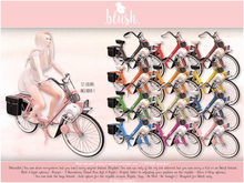 . BLUSH . Motorbike Solex 3800 - 12 Colors - Adult