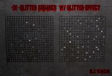 -IX- Glitter Squares