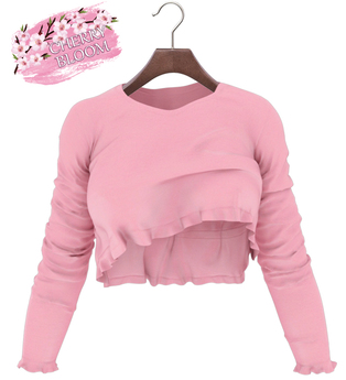 Thea  EXCLUSIVE Female Ruffle Top Mesh- MAITREYA LARA - Pink Color CB collection