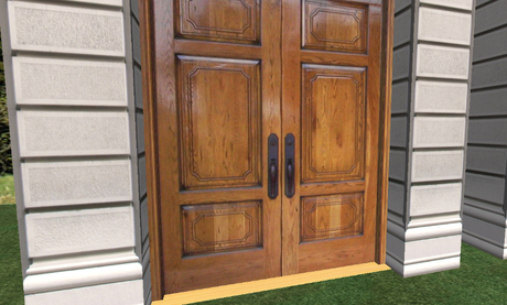 Formal Traditional House Entrance Door