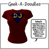 Geek-A-Doodles Super DJ T-Shirt