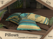 Gift Pillows (4 people 17 animations) .:JC:.