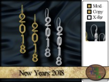 >^OeC^ NY 2018 Earrings