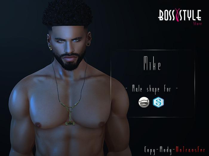 .::Boss Style::.  Shape Mike  for bento - Catwa Daniel