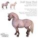 Teegle Horse Avatar Full Body Mod - Draft Horse