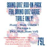 Sound Quiz PK6_MUS_Blues vol1 add on pack