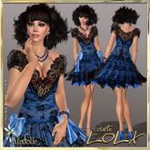 -AlaFolie- LOLA courte bleu