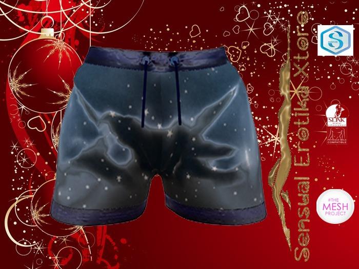 %SeX Boxer Xmas Gift  Blue