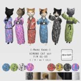 {-Maru Kado-} Kimono Cat set (F/M 01-03)