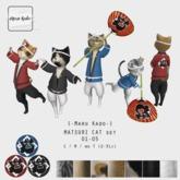 {-Maru Kado-} Matsuri Cat set (01-05)