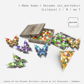 {-Maru Kado-} Origami set_butterfly