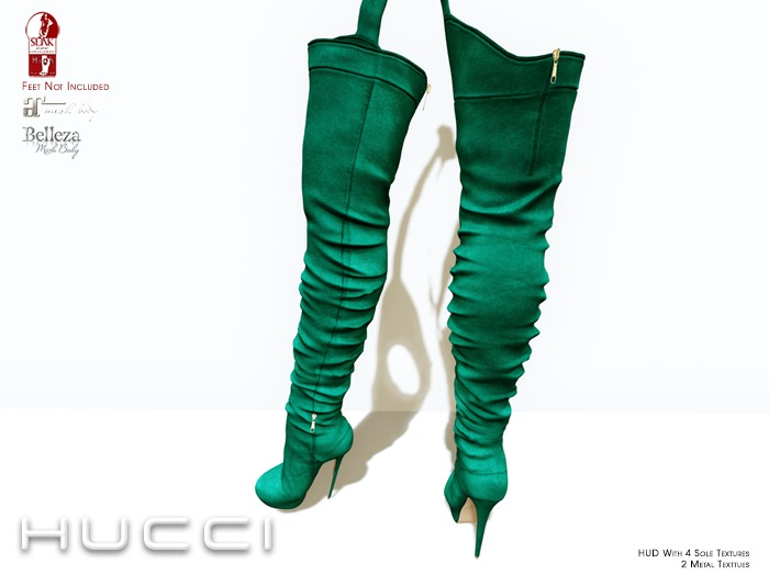 ::HH:: Hucci Oppin Boot - Evergreen