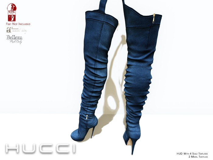 ::HH:: Hucci Oppin Boot - Navy