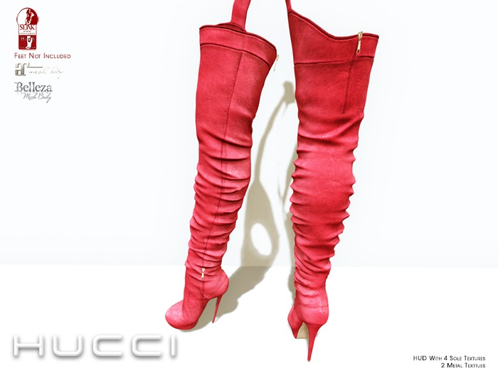 ::HH:: Hucci Oppin Boot - Red