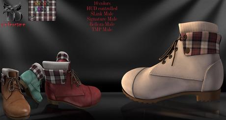 ^TD^ Winter Boots SLink M Signature M Belleza M TMP M 10 colors