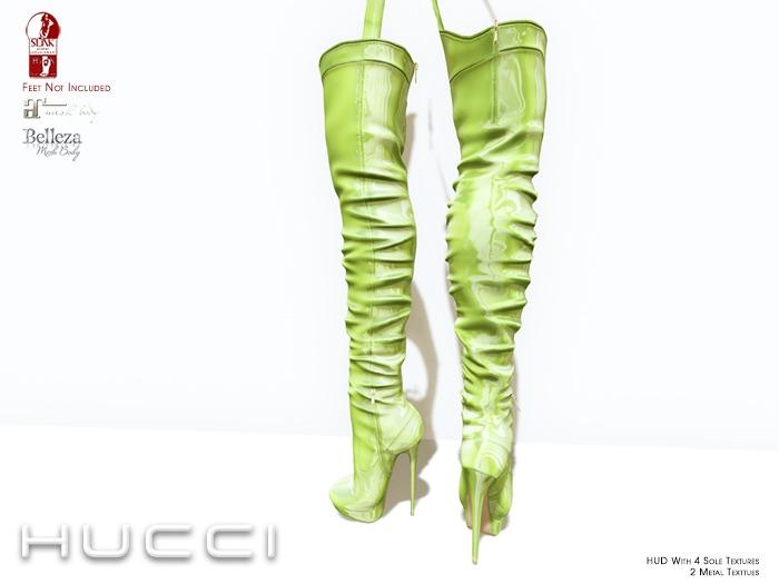 ::HH:: Hucci Rainelle Boot - WinterLime
