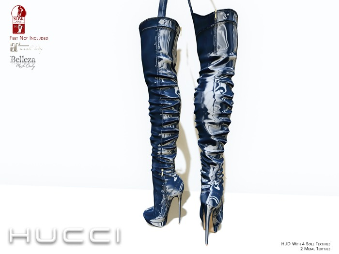 ::HH:: Hucci Rainelle Boot - Navy