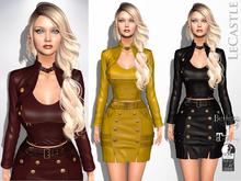 LeCastle - Chinatsu Jacket & Skirt Set